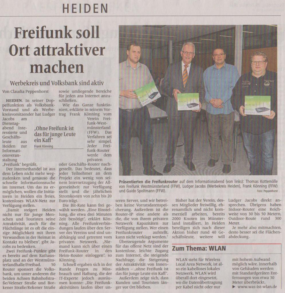 Bericht der Borkener Zeitung über diese Veranstaltung (25.02.2016)